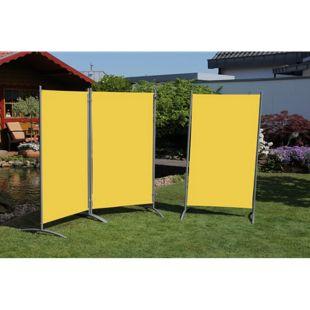 Leco Stellwand, gelb