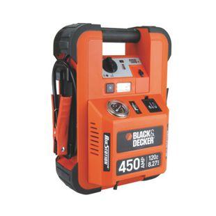 Black & Decker 70106 Sofort-Starthilfe 450 A mit 8 bar Kompressor