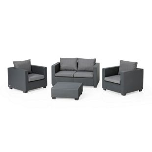 Allibert Lounge-Set Salta 2-Sitzer, anthrazit