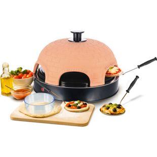 Emerio PO-115984 Pizza Ofen / Pizzarette für 6 Personen
