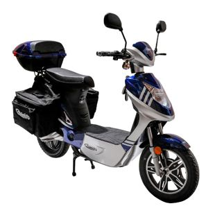Rolektro eco-City 20 V.2 PLUS Blau/ Silber