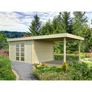 Palmako Elsa 9,6+8,1 m² Gartenhaus