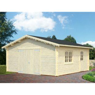 Palmako Roger 27,7 m² Garage mit Holztor