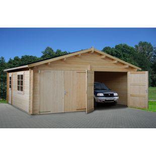 Palmako Roger 28,4 m² Garage mit Holztor