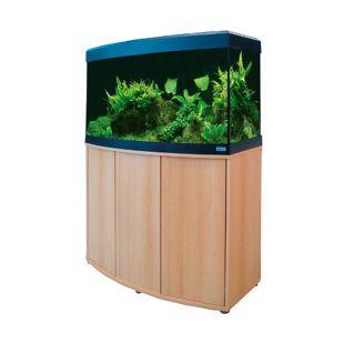 Fuval Süßwasser Aquarium Vicenza 180 Kombi Buche Eco