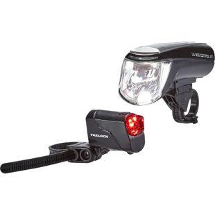 TRELOCK Akkubeleuchtungs-Set LS 950 CONTROL ION/ LS 720 Set black