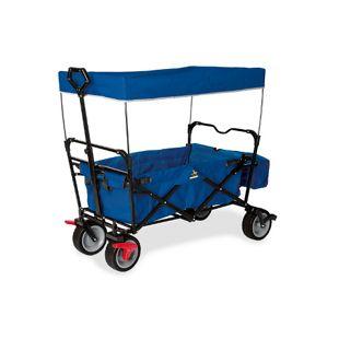 Pinolino Klappbollerwagen 'Paxi dlx' mit Bremse blau
