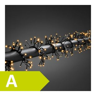 """Konstsmide LED Büschellichterkette """"Cluster"""" mit Timer und Dimmer, 960 Dioden"""