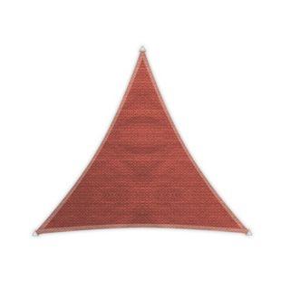 Windhager Dreieck-Sonnensegel Adria, terracotta - 3,60 m