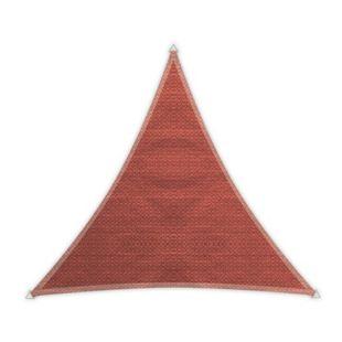 Windhager Dreieck-Sonnensegel Adria, terracotta - 5,00 m