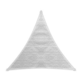 Windhager Dreieck-Sonnensegel Adria, weiß - 5,00 m
