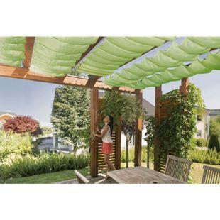Windhager Seilspann-Sonnensegel 420 x 140 cm, apfelgrün