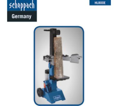 Scheppach Hydraulik Spalter