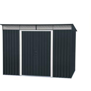 Tepro Metallgerätehaus Pent Roof Skylight 8x6 anthrazit