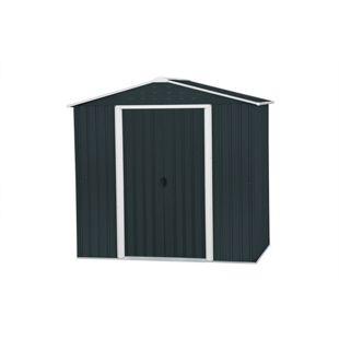 Tepro Metallgerätehaus Riverton anthrazit 6x4