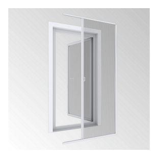 Windhager Insektenschutz-Türplissee Expert 240 x 120 cm, weiß