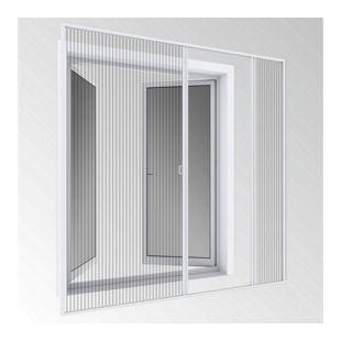 Windhager Insektenschutz-Doppeltürplissee Expert 240 x 240 cm, weiß