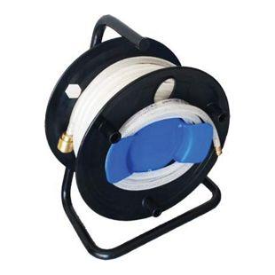 MAUK Druckluft - Schlauch - Trommel 20m PVC 6,3bar mit Messing - Connector
