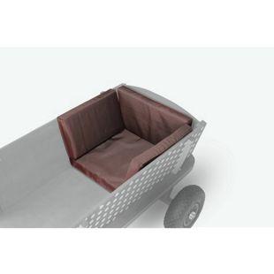 Beachtrekker Style Sitzkissen für Holzbollerwagen, Braun