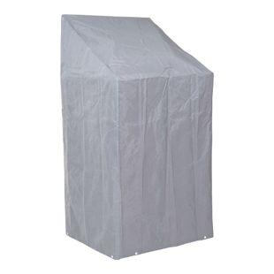Abdeckhaube Abdeckplane Schutzhülle Schutzplane für Stühle, 150/110x70x70cm grau