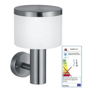 Reality Trio LED-Wandleuchte RL128, Wandlampe Außenleuchte, EEK A ~ 11W ohne Bewegungsmelder