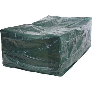 Abdeckhaube Schutzplane Hülle Regenschutz für Tische, 240x140x90cm ~ PE