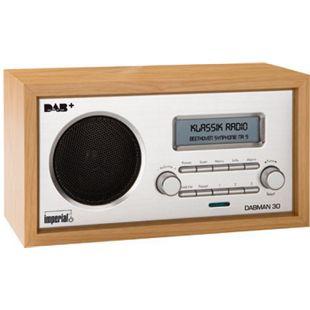 Imperial DABMAN 30 (hellbraun) Stationäres DAB+ und UKW Radio im Retro Design