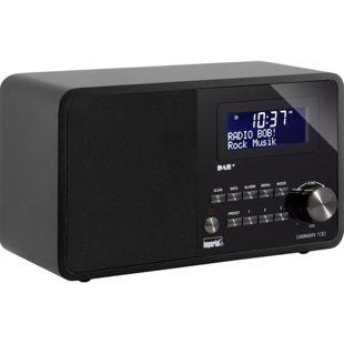 Imperial DABMAN 100 Stationäres DAB+ und UKW Radio, schwarz