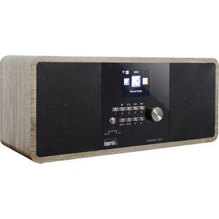 Imperial DABMAN I250 Hybrid Internet, DAB/DAB+ und UKW Radio mit Bluetooth, vintage