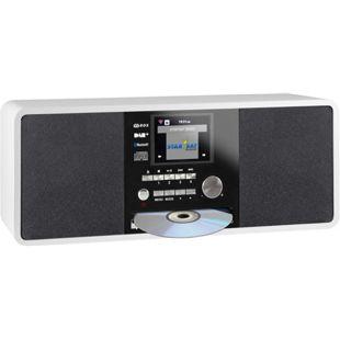 Imperial DABMAN i200 CD Hybrid Internet, DAB/DAB+ und UKW Radio, weiß