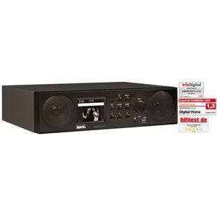 Imperial DABMAN i450 Küchenunterbau Hybrid Internet, DAB/DAB+ und UKW Radio, schwarz