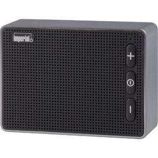 IMPERIAL BAS 2 Kompakter Bluetooth 4.2-Audio-Speaker, schwarz