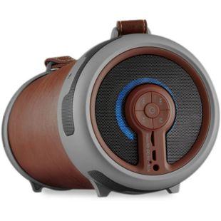 IMPERIAL Beatsman 2 Lautsprecher mit integriertem UKW-Radio, Braun
