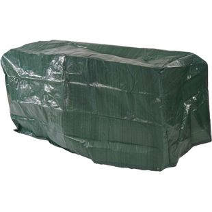 Abdeckhaube Schutzplane Hülle Regenschutz für Gartenbänke, 140x70x89cm