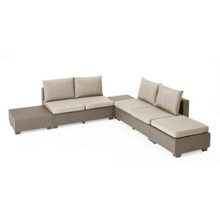 Allibert Lounge Sapporo Lounge Set, cappuchino