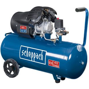 Scheppach HC100DC Doppelzylinder-Kompressor