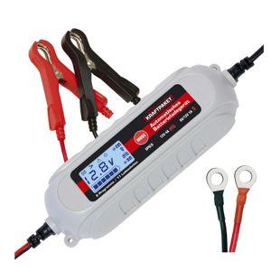 Dino KRAFTPAKET 136312 KFZ Batterieladegerät 6V/12V 4A mit Batterietester