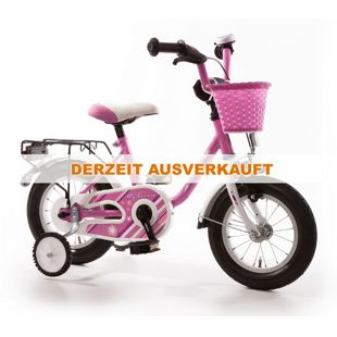"""Bachtenkirch Kinderfahrrad """"MY BONNIE"""" pink/ weiß 12,5"""""""