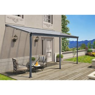 Home Deluxe 9762 Terrassenüberdachung, 312 x 226/278 x 303 cm