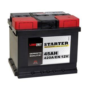 Langzeit 45 Ah 12 V Autobatterie