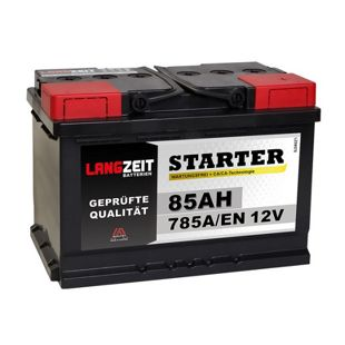 Langzeit 85 Ah 12 V Autobatterie