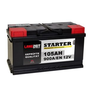 Langzeit 105 Ah 12 V Autobatterie