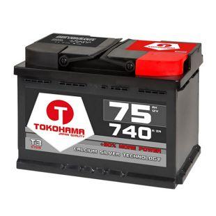 Tokohama 75 Ah Autobatterie