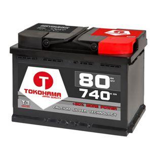 Tokohama 80 Ah Autobatterie