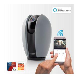 Caliber WiFi IP Kamera für Innenräume mit Schwenk-/Neigefunktion, App-gesteuert