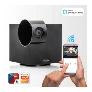 Caliber HWC202PT WiFi IP Kamera für Innenräume mit Schwenk-/Neigefunktion, App-gesteuert