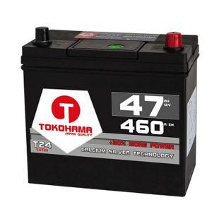 Tokohama Asia 47 Ah PPR Autobatterie