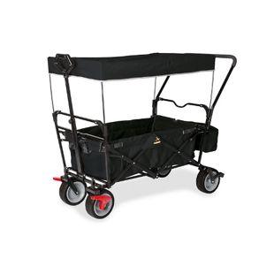 Pinolino Klappbollerwagen Paxi dlx Comfort mit Bremse schwarz