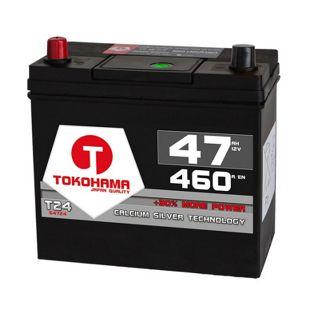 Tokohama Asia 47 Ah PPL Autobatterie