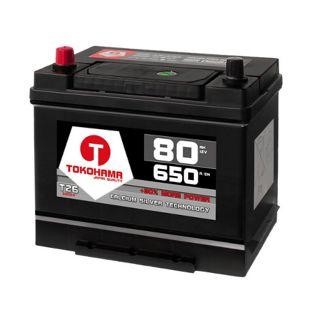 Tokohama Asia 80 Ah 12 V PPL Autobatterie